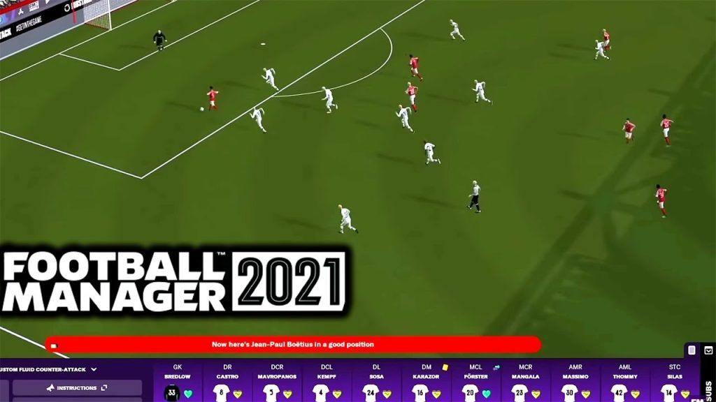 Football Manager 21 Gameplay
