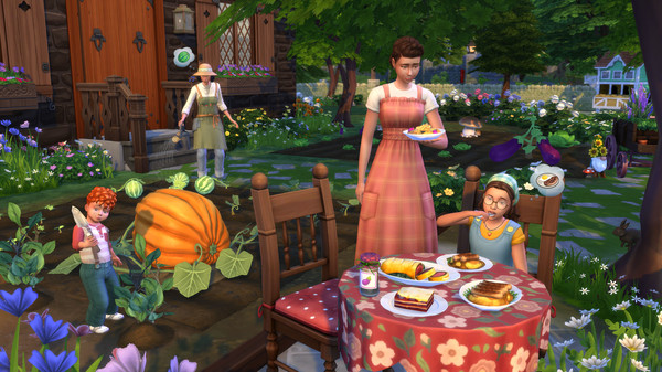 The Sims 4 Cottage Living Expansion Download for free