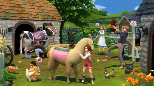 The Sims 4 Cottage Living Expansion Pack PC Game Download